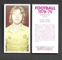 Leeds United Tony Currie 34